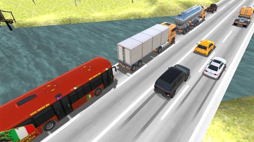 بازی اندروید مسابقه ترافیک سنگین - سریع - Heavy Traffic Racer: Speedy