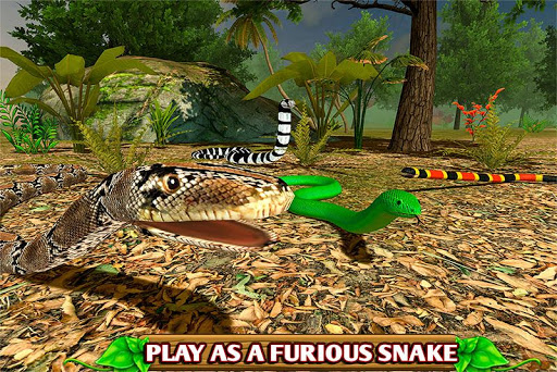 بازی اندروید مار خشمگین - Furious Snake Simulator 🐍
