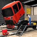 کارگاه مکانیکی کامیون