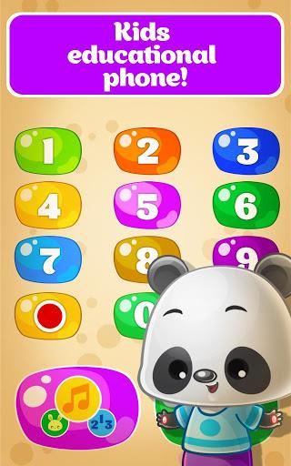 بازی اندروید تلفن کودک برای کودکان - اعداد حیوانات موسیقی - Baby Phone for Toddlers - Numbers, Animals, Music