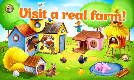 بازی اندروید حیوانات مزرعه برای کودکان - یادگیری حیوانات - Animal Farm for Kids - Learn Animals for Toddlers