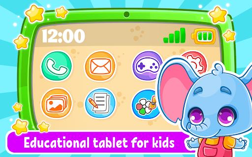 بازی اندروید کودک و تبلت - بازی یادگیری نقاشی کودک  - Babyphone & tablet - baby learning games, drawing