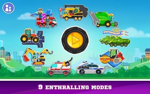 بازی اندروید بازی های ساخت شستن کامیون کودکان - Kids Cars Games! Build a car and truck wash!