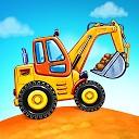 بازی های کامیون برای کودکان - ساخت خانه شستشوی ماشین