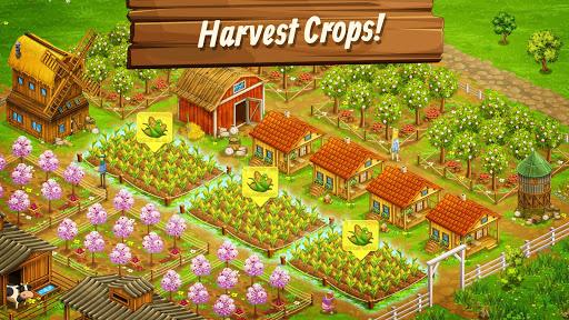 بازی اندروید مزرعه بزرگ - برداشت تلفن همراه - Big Farm: Mobile Harvest