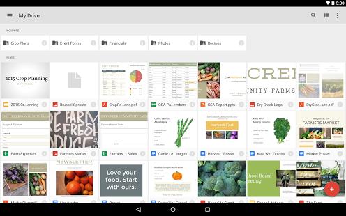 نرم افزار اندروید گوگل درایو - Google Drive