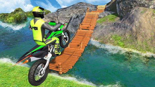 بازی اندروید مسابقه دیوانه موتور - Crazy Bike Racing Stunt 3D