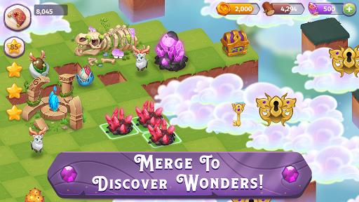 بازی اندروید ادغام سحر و جادو - Merge Magic!