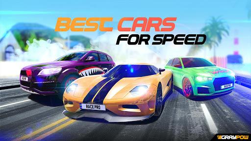 بازی اندروید مسابقه سرعت اتومبیل در ترافیک  - Race Pro: Speed Car Racer in Traffic