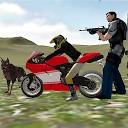 رانندگی موتور سیکلت - شهر غول پیکر