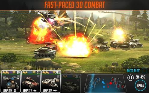 بازی اندروید پیمان جنگ - مزدور - League of War: Mercenaries