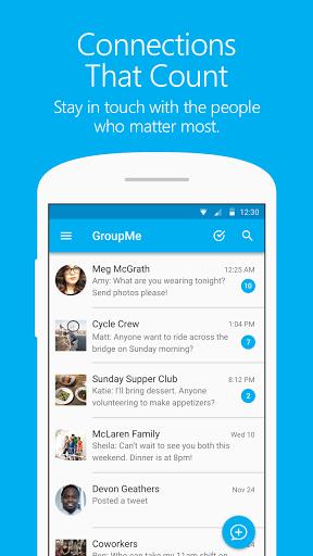 نرم افزار اندروید گروپ می - چت گروهی - GroupMe