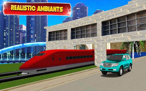 بازی اندروید مسابقه قطار با پرادو - مسابقه ماجراجویی - Train vs Prado Racing 3D: Advance Racing Revival