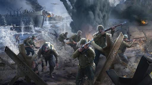 بازی اندروید ضربه تفنگ - تیرانداز جنگ جهانی - Gun Strike Ops: WW2 - World War II fps shooter