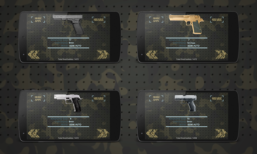 بازی اندروید شبیه ساز تفنگ - Gun Simulator FREE