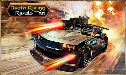 بازی اندروید رقابت مرگ - Death Racing Rivals 3D