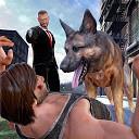 پلیس مخفی و سگ حمله
