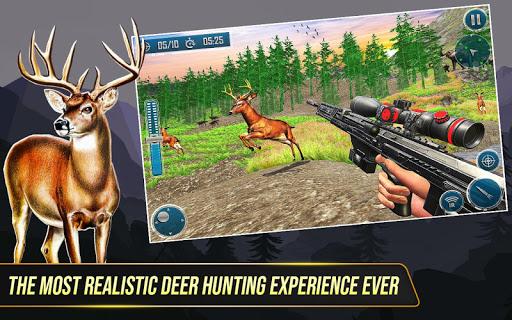 بازی اندروید ماجراجویی شکار گوزن وحشی - بازی تیراندازی با حیوانات - Wild Deer Hunting Adventure :Animal Shooting Games