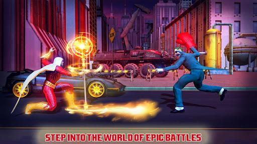 بازی اندروید قهرمان مبارزات کونگ فو - Real Superhero Kung Fu Fight Champion