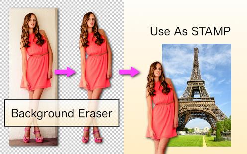 نرم افزار اندروید پاک کننده پس زمینه تصویر - Background Eraser