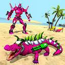 بازی شبیه ساز واقعی ربات تمساح - ربات ترانسفورماتور