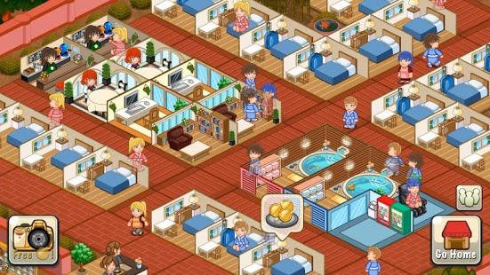 بازی اندروید روایت هتل - استراحت گاه - Hotel Story: Resort Simulation