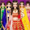 بازی سبک عروسی هندی - بازی های آرایش