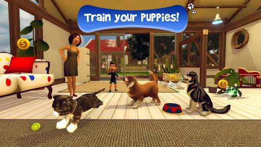 بازی اندروید شبیه ساز مجازی توله سگ - Virtual Puppy Simulator