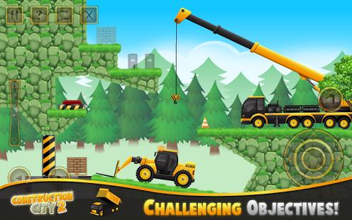 بازی اندروید شهر ساخت و ساز 2 - Construction City 2