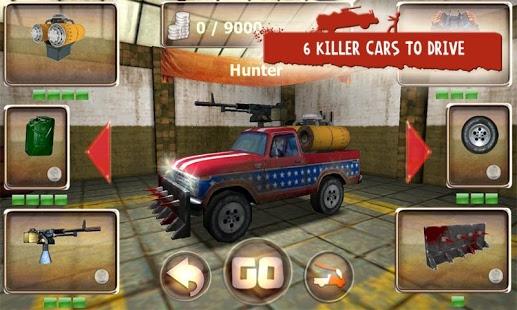 بازی اندروید ماشین زامبی کش - Zombie Derby