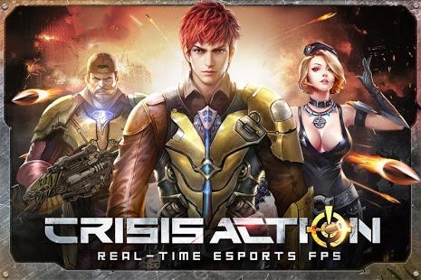 بازی اندروید اقدام بحرانی - Crisis Action-eSports FPS