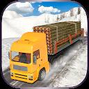 راننده کامیون کوه برفی