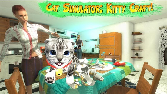 بازی اندروید شبیه ساز گربه - Cat Simulator : Kitty Craft