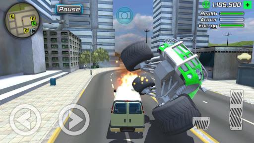 بازی اندروید شبیه ساز بزرگ اکشن - باند ماشین نیویورک - Grand Action Simulator - New York Car Gang