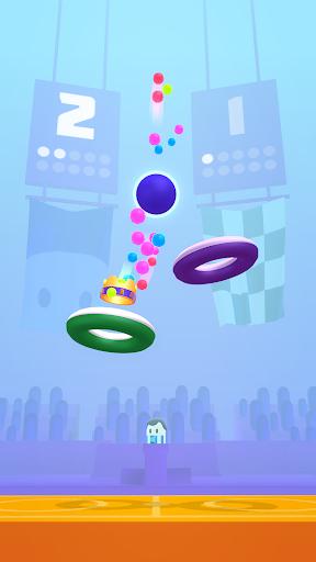 بازی اندروید ستاره های حلقه ای - Hoop Stars