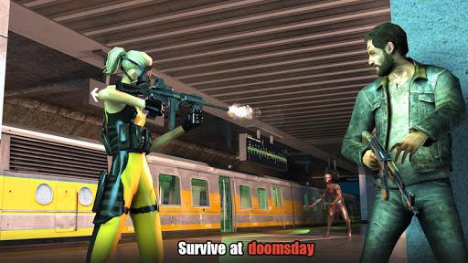 بازی اندروید مهاجم شلیک به زامبی - Hopeless Raider-Zombie Shooting Game