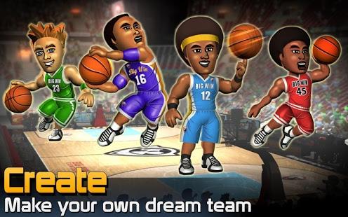 بازی اندروید پیروزی بزرگ بسکتبال - BIG WIN Basketball