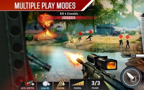 بازی اندروید شلیک مرگ - Kill Shot Bravo