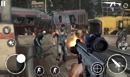 بازی اندروید صدای حمله شکارچی زامبی  - Zombie Hunter Assault Call Of War 2019