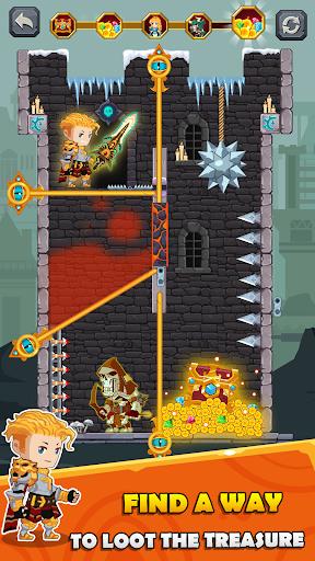 بازی اندروید چگونه غارت کنیم - رهایی قهرمان پین بال - How to Loot - Pin Pull & Hero Rescue