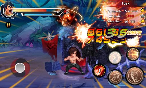 بازی اندروید خیابان مبارزه 2 - استاد کونگ فو - Street Fighting 2: Master of Kung Fu