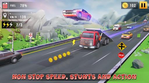 بازی اندروید افسانه مسابقه اتومبیل - بازی مسابقه اتومبیل - Mini Car Race Legends - 3d Racing Car Games 2019