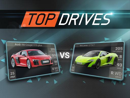 بازی اندروید بهترین راننده - Top Drives