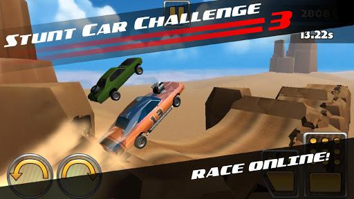 بازی اندروید چالش ماشین شیرین کاری - Stunt Car Challenge 3