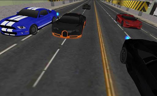 بازی اندروید مسابقه اتومبیل - Car Racing 3D