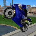 رانندگی موتور در شهر