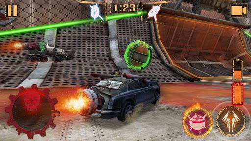 بازی اندروید فوتبال توپ موشکی - Rocket Car Ball