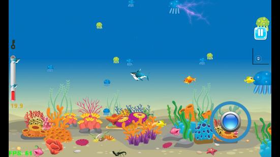 بازی اندروید سفر کوسه - Shark Journey