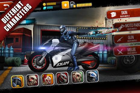 بازی اندروید موتور مرگ 3 - Death Moto 3