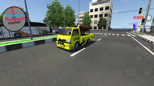 بازی اندروید شبیه ساز وانت - IDBS Pickup Simulator